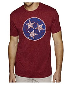 Men's Premium Word Art T-shirt - Tennessee Tristar