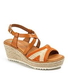 Ethel Posture Plus+ Platform Wedge Sandals