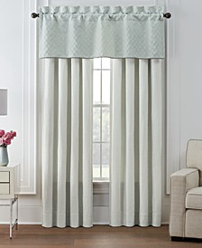 Forli Curtain Panels and Valance