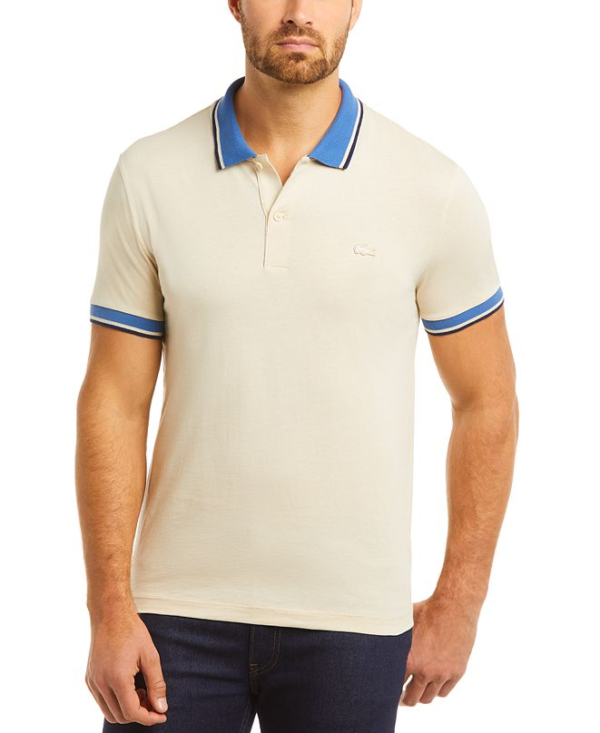 Lacoste Men's Solid Polo Shirt, Created for Macy's