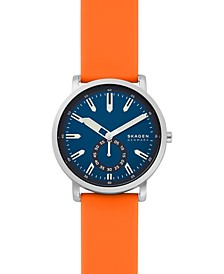 Men's Colden Orange Silicone Strap Watch 40mm