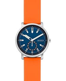 Men's Colden Orange Silicone Strap Watch 40mm
