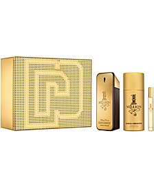 Paco Rabanne Men's 3-Pc. 1 Million Eau de Toilette Gift Set