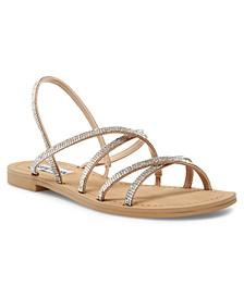 Rita Strappy Rhinestone Sandals
