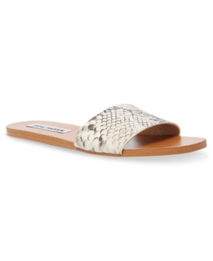 Steve Madden WOMEN'S NIKINI SLIDE SANDALS