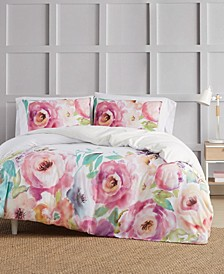 Spring Flowers 3 Piece Duvet Set, King