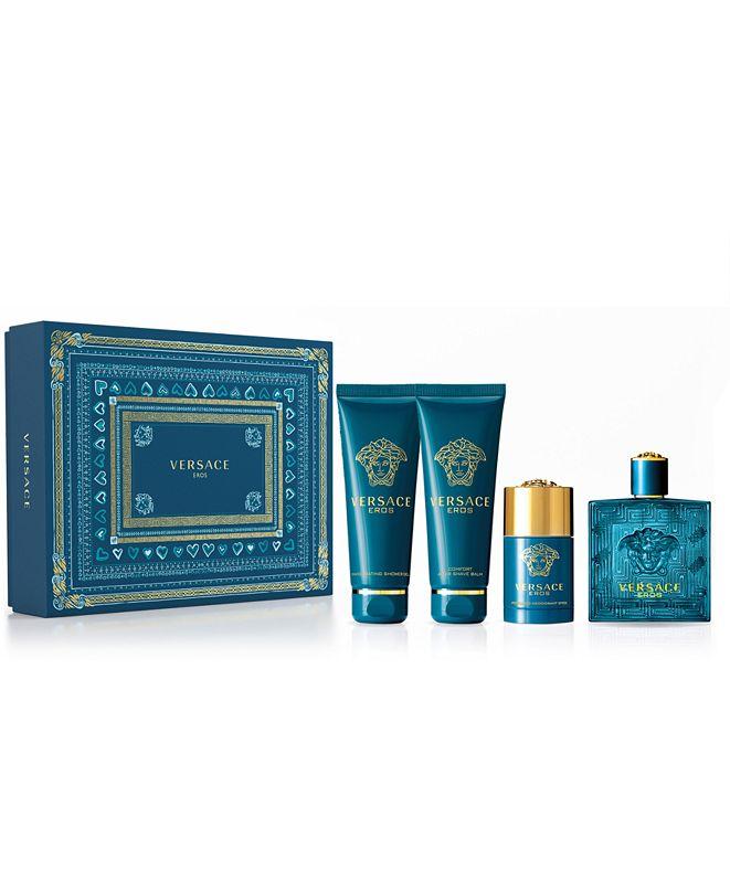 Versace Men's 4-Pc. Eros Eau de Toilette Gift Set