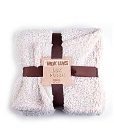 Super Soft Teddy Sherpa Throw Blanket