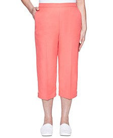 Petite Look On The Bright Side Pull-On Capris
