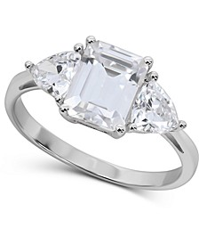 Swarovski Zirconia Ring in 14k White Gold