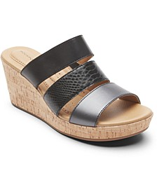 Women's Lyla Strappy Wedge Sandals