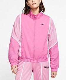 Women's Sportswear Colorblocked Woven Jacket