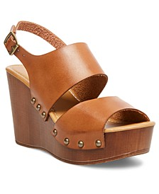 Driiggs Platform Wedge Sandals