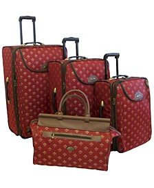 Lyon 4 Piece Luggage Set