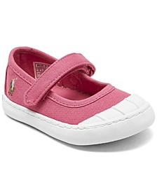 Toddler Girls Leyah II Stay-Put Closure Casual Sneakers from Finish Line
