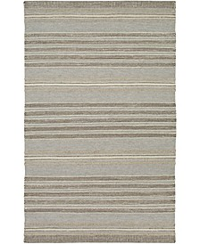 "Thebes THB-1000 Taupe 5' x 7'6"" Area Rug"