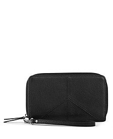 Silverlake Leather Zip Around Wallet