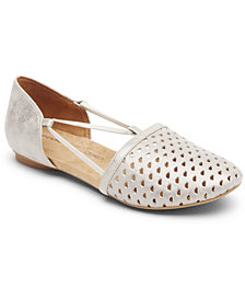 Rockport Women's Reagan Perforated Flats