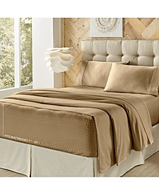 Royal Fit 4 Pieces Sheet Set, Full