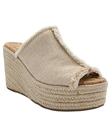Women's Helper Platform Wedge Espadrilles