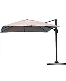 Mitchell Outdoor Canopy Umbrella with Base
