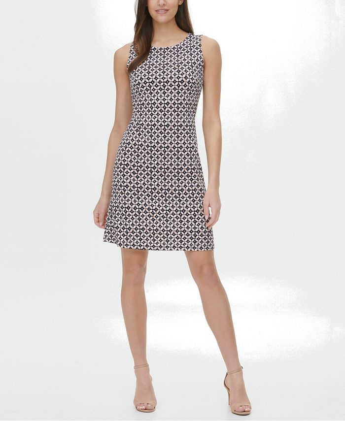 Tommy Hilfiger - Printed A-Line Dress