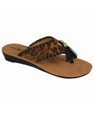 Margo Wedge Thong Sandal Women's Shoes
