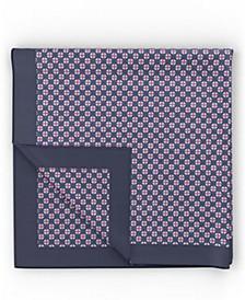 BOSS Men's Dark Blue Pocket Square