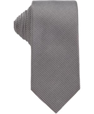 Boss Men's Black T-Tie