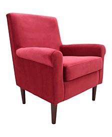 Ellis Rolled Armed Lounge Chair