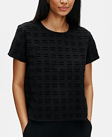 Organic Cotton Textured Top