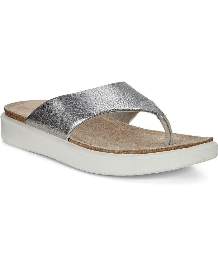 Ecco - Women's Corksphere Thong Sandals
