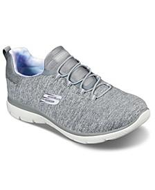 Women's Summits - Rainbow Swirl Wide Width Athletic Walking Sneakers from Finish Line