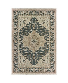 "Scope SCO01 Gray 5'3"" x 7'3"" Area Rug"