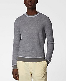 BOSS Men's Korian Medium Grey Sweater