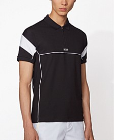 BOSS Men's Philix Black Polo Shirt