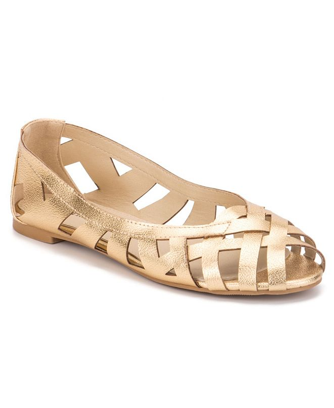 Olivia Miller Nothing to Hide Ballet Flats