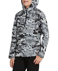 Big Boys Camouflage Anorak with Reflective Print Jacket
