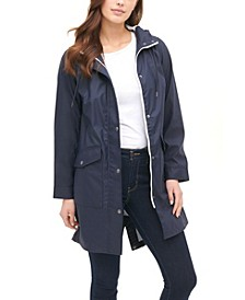 Midweight Rubberized Rain Fishtail Parka Jacket