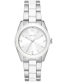 Women's Nolita Two-Tone Stainless Steel Bracelet Watch 34mm