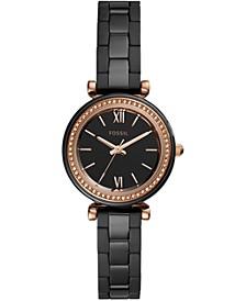 Women's Carlie Black Ceramic Bracelet Watch 30mm