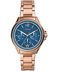 Women's Sadie Rose Gold-Tone Stainless Steel Bracelet Watch 38mm