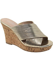 Linger Platform Wedge Sandals