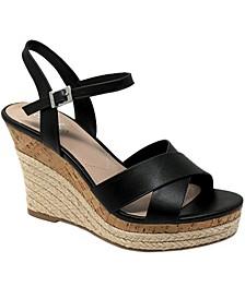 Lazaro Platform Wedge Sandals