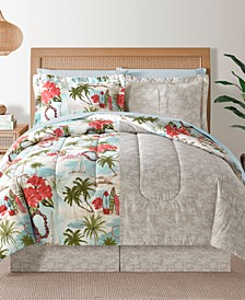 Fairfield Square Hawaii Multi 8Pc Full Comforter Set