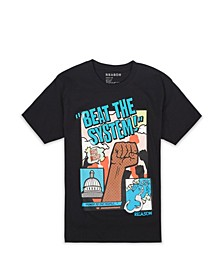 Men's Big & Tall Beat The System T-Shirt
