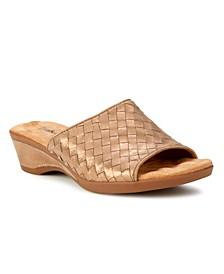 Keely Slide Wedge Sandal