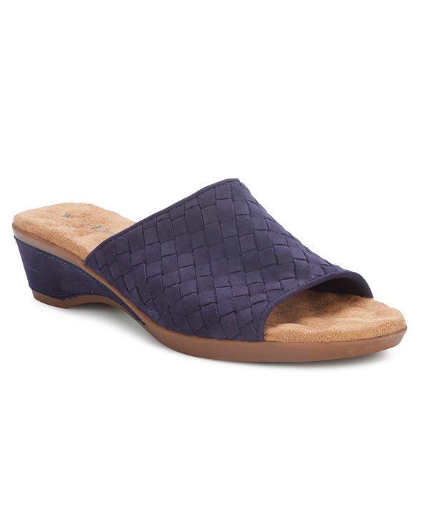 Walking Cradles Keely Slide Wedge Sandal