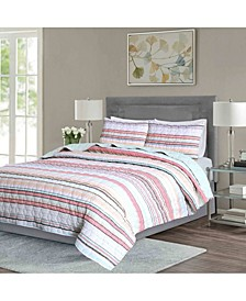 Seersucker Stripe Quilt Sets