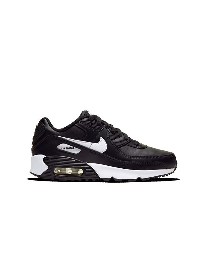 Big Boys Air Max 90 Leather Running Sneakers from Finish Line